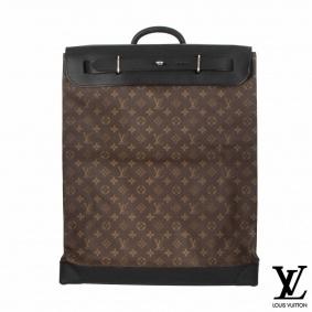 Louis Vuitton Monogram Macassar Canvas Steamer 45 Bag M56720
